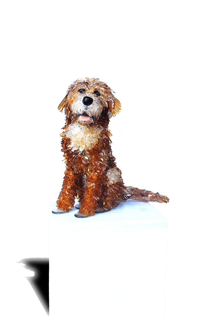 Buddy Golden Retriever Sculpture