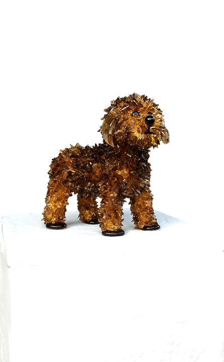 Turbo Toy Poodle Sculpture
