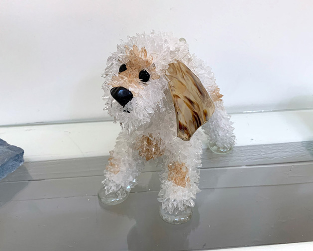 Doodlebug new dog sculpture