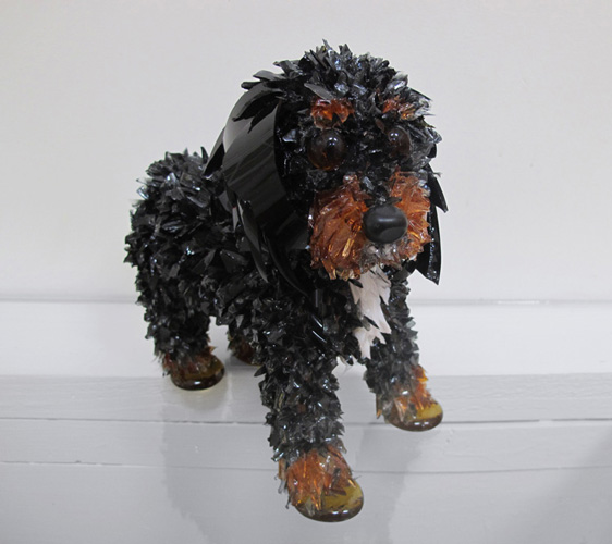 Hank The Charles Spaniel Cavalier King Charles Spaniel glass sculpture